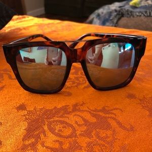 Quay x Chrissy Mila Tortoise Sunglasses